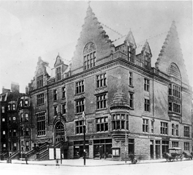 YMCA building at Boylston and Berkeley Streets, 1896.