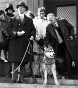 President Frank Palmer Speare presents King Husky I, 1927.